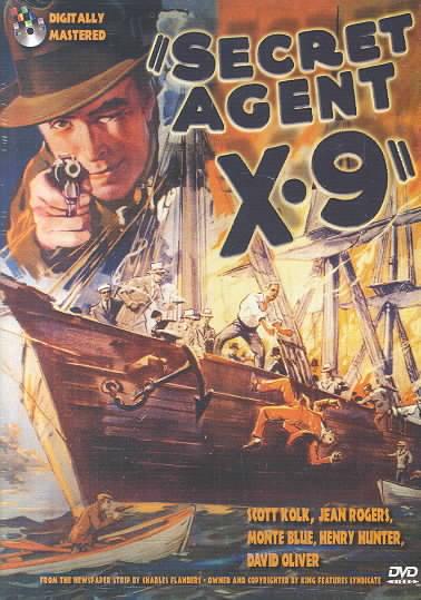 SECRET AGENT X-9 BY KOLK,SCOTT (DVD)