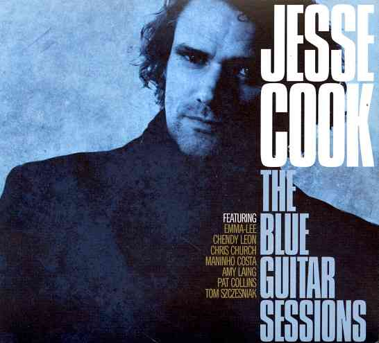 BLUE GUITAR SESSIONS BY COOK,JESSE (CD)